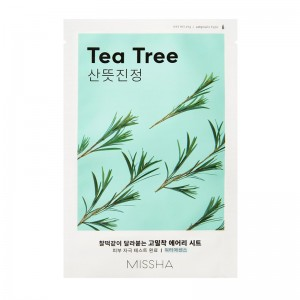 MISSHA - Gesichtsmaske - Airy Fit Sheet Mask - Tea Tree