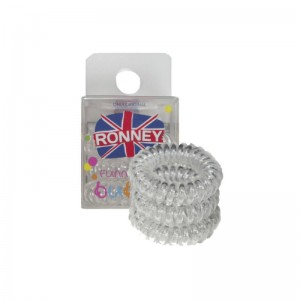 Ronney Professional - Haargummis - Funny Ring Bubble - Transparent - 3 Stk
