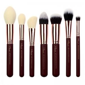 lenibrush - Kosmetikpinselset - Flawless Face Set - Midnight Plum Edition