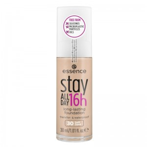 essence - Foundation - stay ALL DAY 16h long-lasting Foundation 30 - Soft Sand