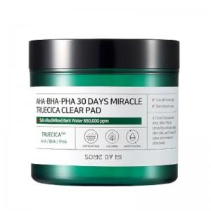 Some By Mi - Gesichtswasser-Pads - AHA BHA PHA 30 Days Miracle Truecica Clear Toner Pad