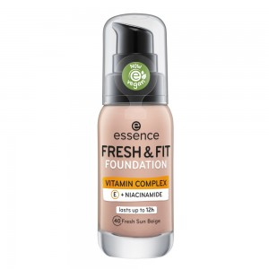 essence - Foundation - FRESH & FIT FOUNDATION - 40 fresh sun beige