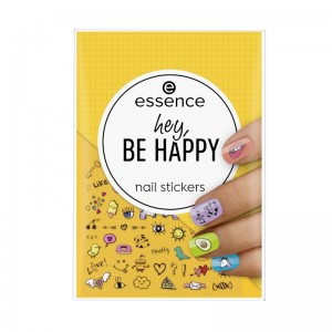 essence - Nagelsticker - hey, be happy nail stickers