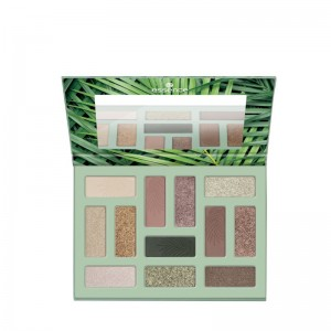 essence - palette di ombretti - Out In The Wild eyeshadow palette 02 - Don't stop beleafing!