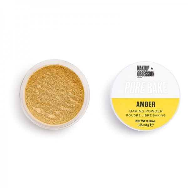Makeup Obsession - Puder - Pure Bake Baking Powder - Amber