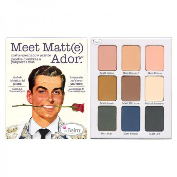 The Balm - Lidschattenpalette - Meet Matt(e) Ador