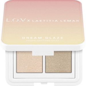 L.O.V - Highlighterpalette - x Laetitia Lemak - Dream Glaze Highlighting Duo