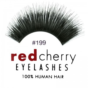 Red Cherry - Falsche Wimpern Nr. 199 Hazel - Echthaar