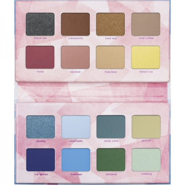 essence - Lidschattenpalette - online exclusives - CRYSTAL ICED eyeshadow palette