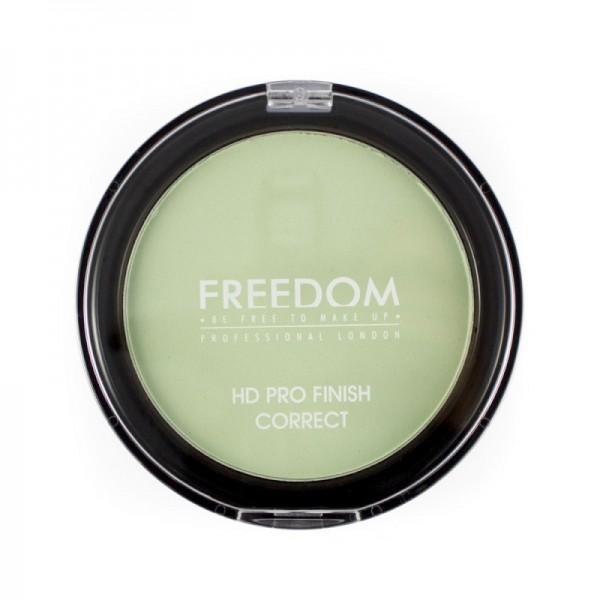 Freedom Makeup - Puder - HD Pro Finish Correct - Mint Green