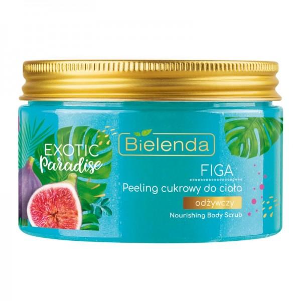 Bielenda - Peeling - Exotic Paradise Sugar Nourishing Body Scrub Fig