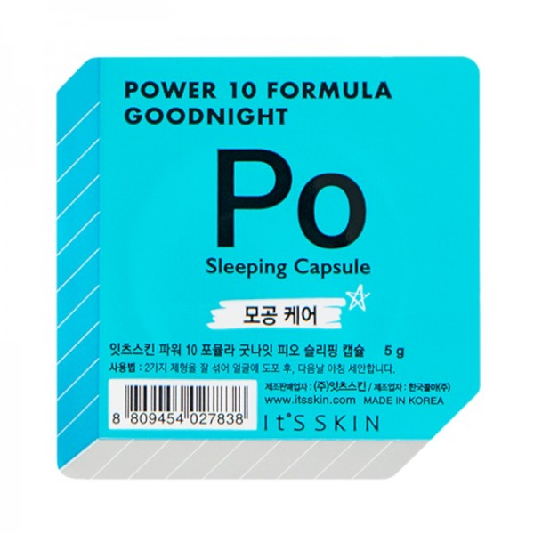 Its Skin - Gesichtsmaske - Power 10 Formula Goodnight Sleeping Capsule PO