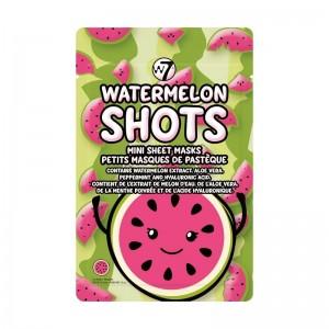 W7 - Gesichtsmasken - Mini Sheet Masks - Watermelon Shots