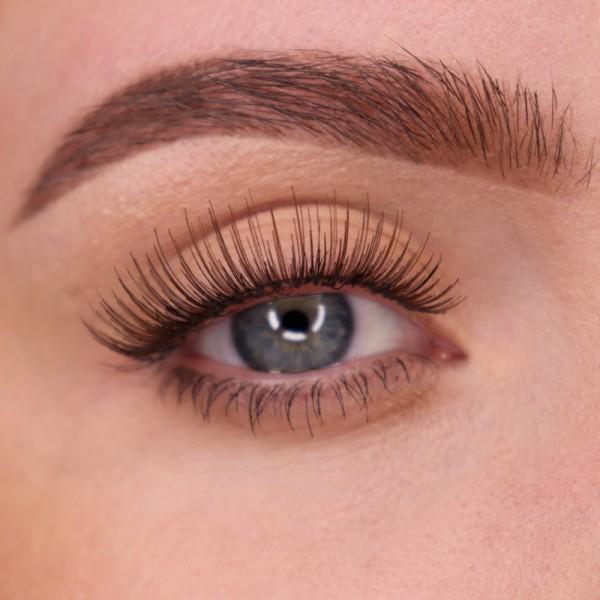 lenilash - False Eyelashes - Brown - Human Hair - Nr.154