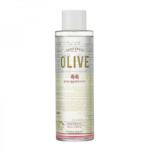 Holika Holika - Makeupentferner - Daily Fresh Olive Lip & Eye Remover - 200 ml