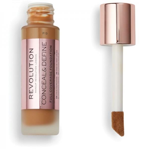 Makeup Revolution - Conceal & Define Foundation F13