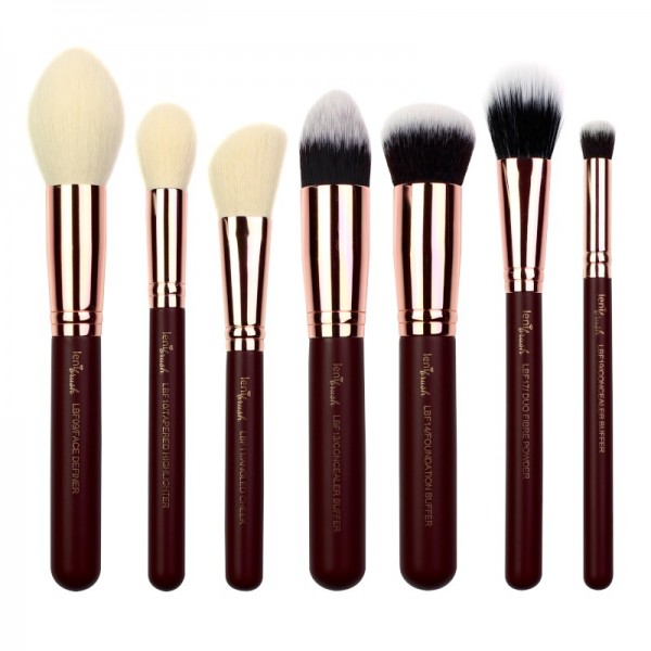 lenibrush - Brush Set - Flawless Face Set - Midnight Plum Edition
