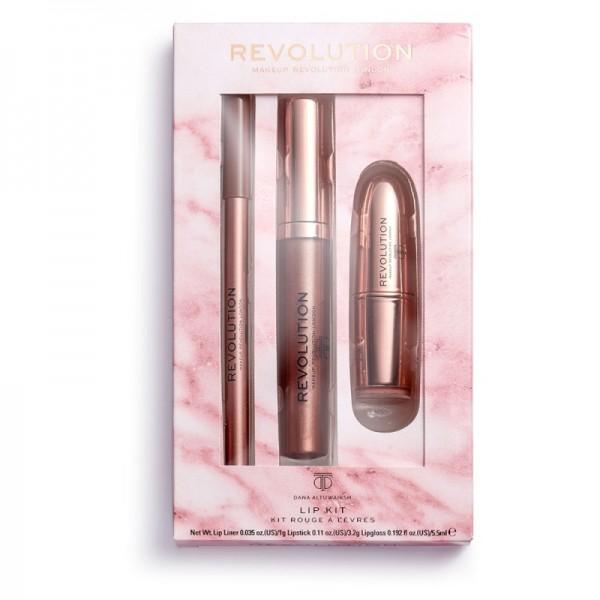 Revolution - Lippenstift Set - Revolution X Dana Lipstick Kit