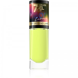 Eveline Cosmetics - Smalto per unghie - 7 Days Gel Laque Neon Lunacy - 80
