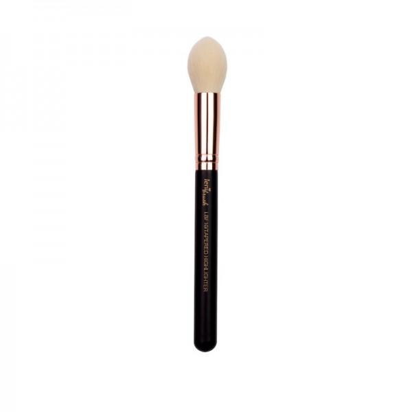 lenibrush - Tapered Highlighter Brush - LBF10 - Matte Black Edition