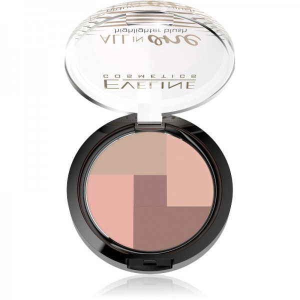 Eveline Cosmetics - Rouge - Mosaic Blush All In One - No 01