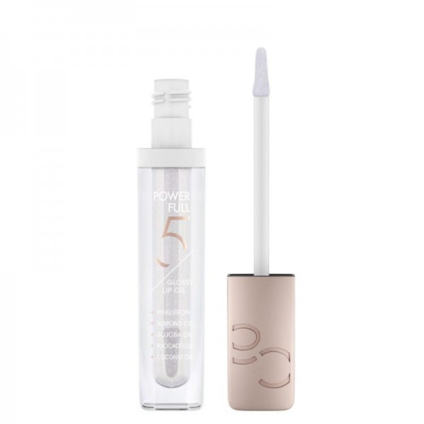 Catrice - Lippenöl - Power Full 5 Glossy Lip Oil - 010 Frosted Sugar