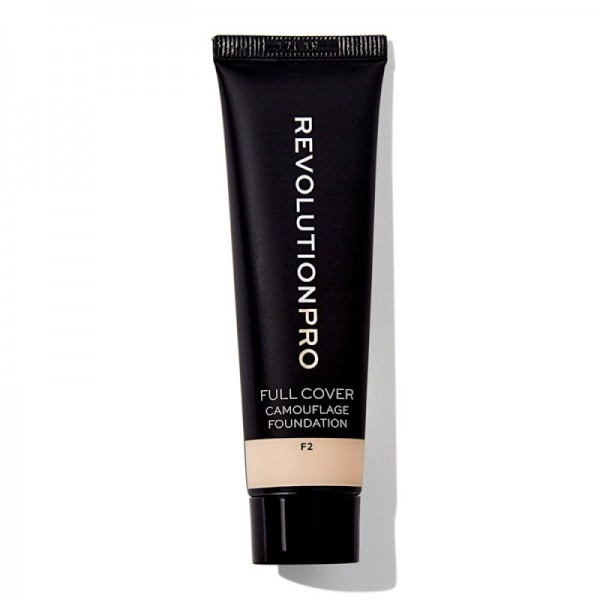 Revolution Pro - Full Cover Camouflage Foundation - F2