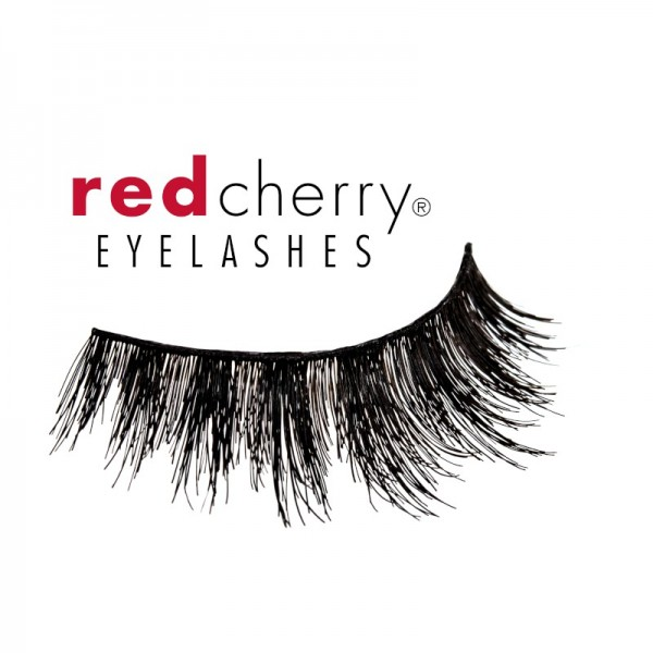 Red Cherry - 3D Wimpern - Valley Of The Dolls - Xannie - Echthaar