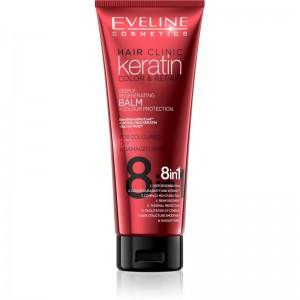 Eveline Cosmetics - Conditioner - Keratin Color & Repair Balm Colour Protection 8In1