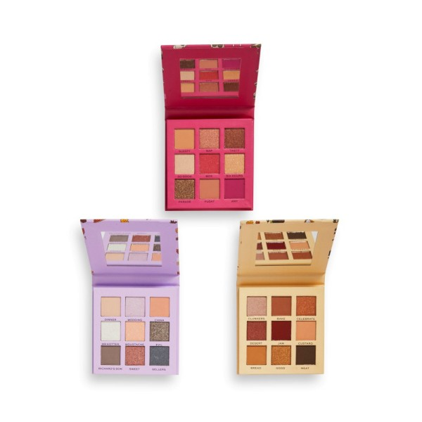 Revolution - Lidschattenpaletten-Set - x Friends The One With All The Thanks Giving's Eyeshadow Pale