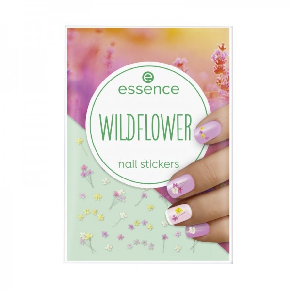 essence - Wildflower nail stickers