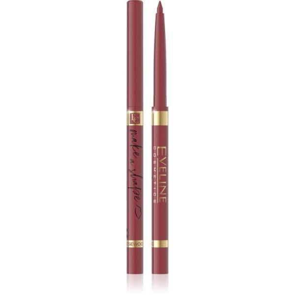 Eveline Cosmetics - Liner per labbra - Make a Shape Automatic Lip Liner - Rosewood