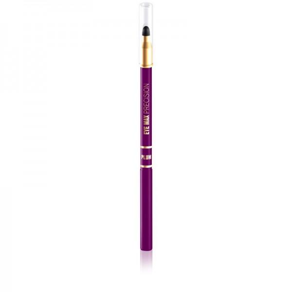 Eveline Cosmetics - Eyeliner - Eye Max Precision-Automatic Eye Pencil With Sponge - Plum