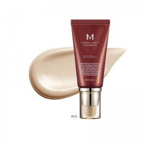 MISSHA - BB Cream - M Perfect Cover BB Cream - SPF42 - No.13/Bright Beige - 50ml