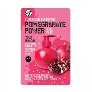 W7 - Gesichtsmaske - Super Skin Superfood - Face Mask - Pomegranate Power
