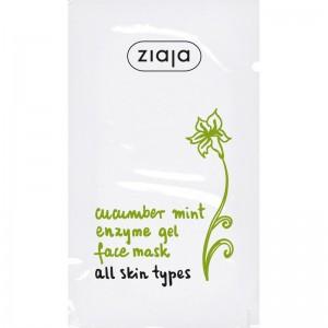 Ziaja - Face Mask - Cucumber Mint Enzyme Mask