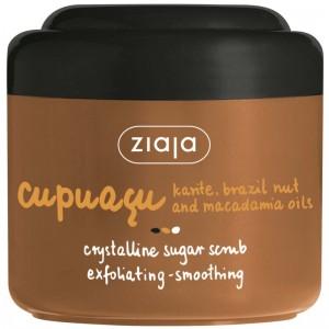 Ziaja - Körperpeeling - Cupuacu Kristallines Zuckerpeeling - Sheanuss-, Paranuss- und Macadamia-Öl
