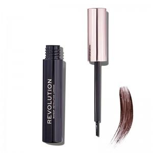 Makeup Revolution - Augenbrauenfarbe - Brow Tint - Dark Brown
