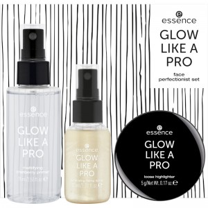 essence - Make Up Set - online exclusives - GLOW LIKE A PRO face perfectionist set 01 - Gold Trigger