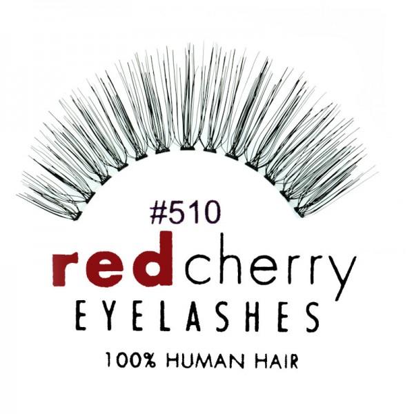 Red Cherry - False Eyelashes No. 510 Juliet - Human Hair