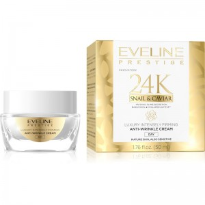 Eveline Cosmetics - Gesichtscreme - Prestige 24K Snail & Caviar Anti-Wrinkle Day Cream