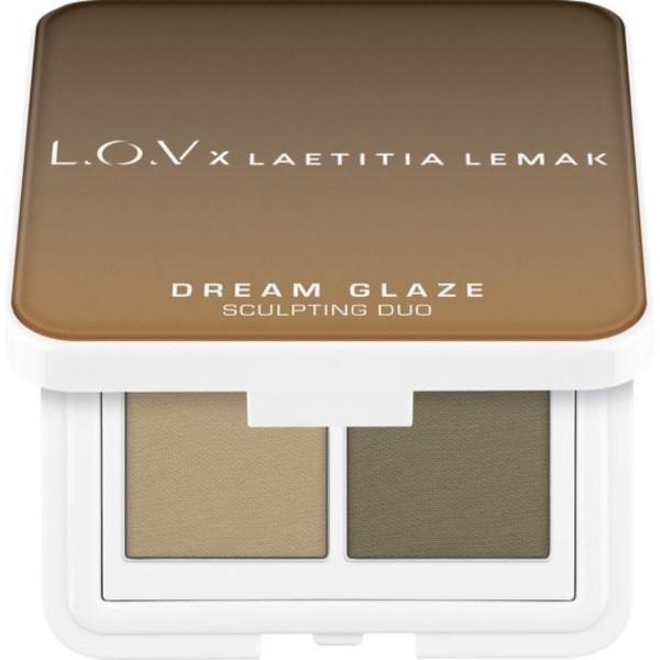L.O.V - Bronzerpalette - x Laetitia Lemak - Dream Glaze Sculpting Duo