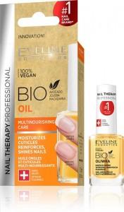 Eveline Cosmetics - Nagelöl - Nail Therapy Bio Oil multi-kräftigende Pflege