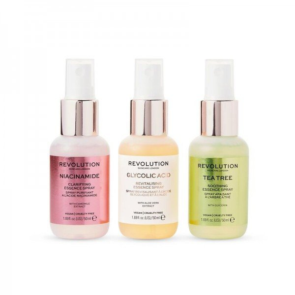 Revolution - Gesichtsspray Set - Skincare Mini Essence Spray Collection - So Soothing