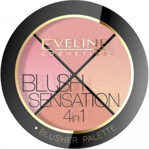 Eveline Cosmetics - Rougepalette - Contour Blush Sensation