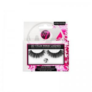 W7 - False Lashes -  3D Faux Mink Lashes - Walk of Shame