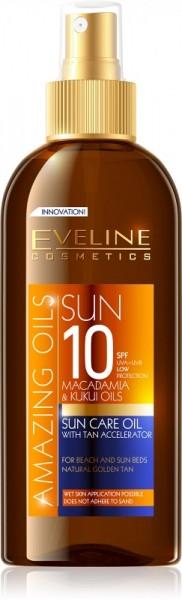 Eveline Cosmetics - Amazing Oils Sun Care Oil With Tan Accelerator Spf10