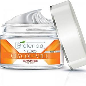 Bielenda - Gesichtscreme - Neuro Glycol + Vitamin C - Exfoliating Face Cream - Night
