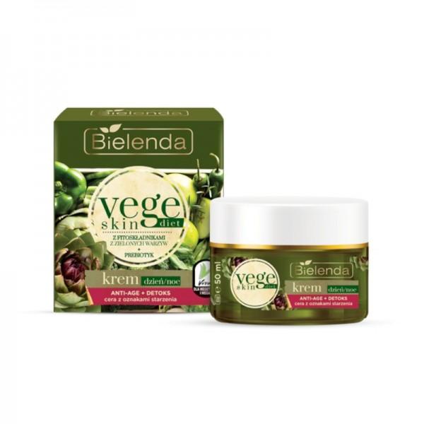 Bielenda - Gesichtscreme - Vege Skin Diet - Face Cream Anti-Age + Detoxifying