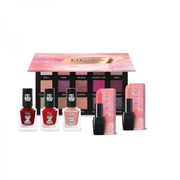 L.O.V - Makeup Set - Colorful Spring Set